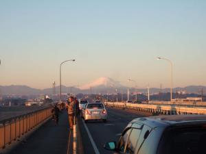 2008年 元旦の富士