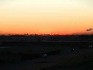 2009初日の出(雲隠れ)